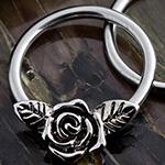 Steel rose captive