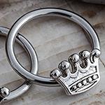 Steel crown captive