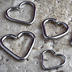 PRE-ORDER Steel seamless heart