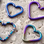 PRE-ORDER Niobium seamless heart