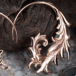 18K rose gold plated Nabulla design