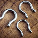 Steel septum retainer
