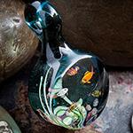 PRE-ORDER Pyrex aquarium pendant