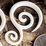 Bone lily spirals