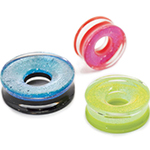 PRE-ORDER Fused dichroic double flare eyelet