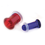 PRE-ORDER Simple solid color single flare plug