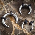 Steel septum pincher