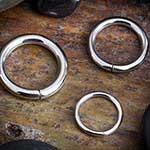 Steel seamless/continuous ring