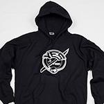 Pullover hoodie (Yes it Hurt logo)