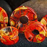 Glass Power Eye eyelets (Lava)