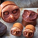 Sabo wood Mr. Owl plugs