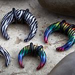 Zebra print pincher