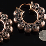 Copper Kali Ma design