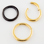 Color-coated septum clicker