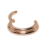 PRE-ORDER 14k rose gold double trouble clicker