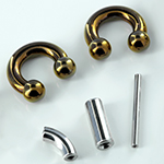 Clearance bin (Anatometal straight, curved and circular barbells)