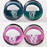 PRE-ORDER Jellyfish with foil/dichroic background plug