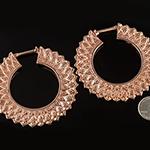18K rose gold plated 2012 design