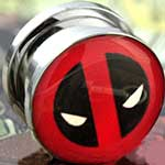 Steel screw fit Deadpool plugs