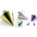 PRE-ORDER Titanium cone threaded end