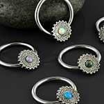 Mandala opal captive