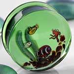 Pyrex glass aquarium plugs