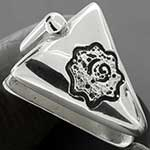 Sterling silver Triangle borneo weights
