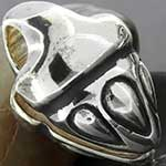 Sterling silver acorn weights