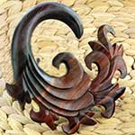Ebony wood Ultra Onda design