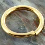 14K Gold filled seamless ring