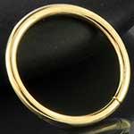 14k gold seamless ring