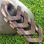 Wood Quad arrow design