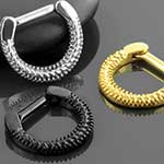 Twisted septum clicker