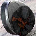Breccia obsidian teardrop plugs