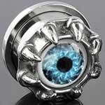 Steel claw eye threaded plug