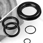 Black coat clicker ring