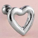 Heart barbell