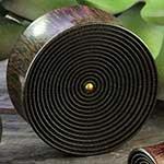 Arang wood circles plugs