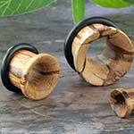 Single flare marblewood eyelets