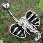 Jeweled elephant navel