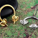 Elephant circular barbell