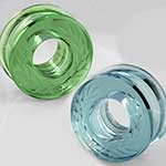 PRE-ORDER Glass solid color laurel eyelets