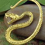 Brass snake coil