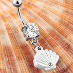 Seashell navel