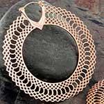 Snakeskin hoops