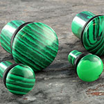 Single flare malachite plug
