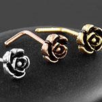 Vintage rose nosescrew