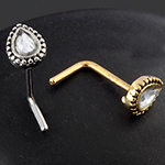 Chakra sparkle nosescrew