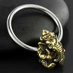 Ganesha captive ring