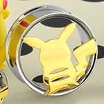 Steel Pikachu eyelets